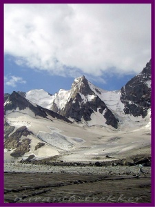 A mountain peak at chikaar