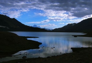 Karamber lake in half light