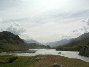 Yarkhun river in Broghil